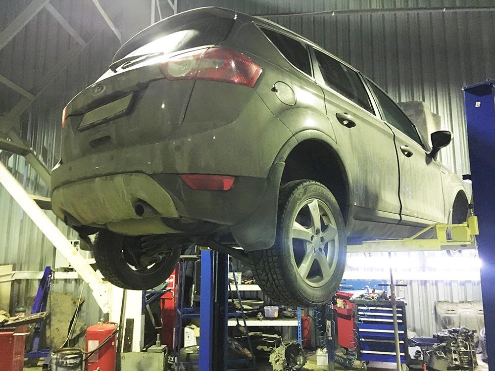 ремонт акпп форд куга