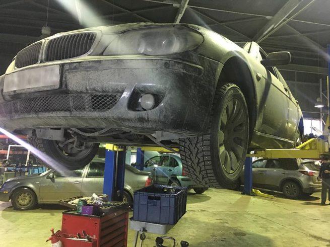 ремонт акпп bmw 740