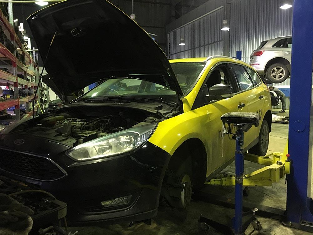 ремонт акпп форд фокус