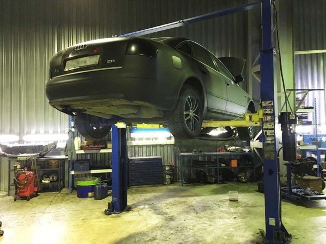 Ремонт вариатора Audi А6