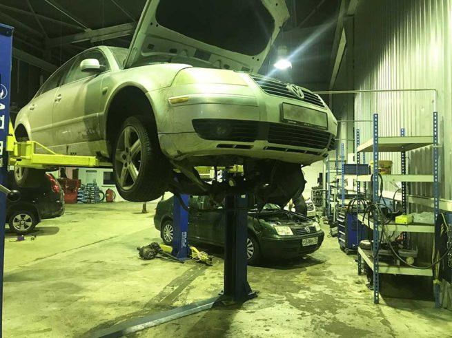 Ремонт АКПП Volkswagen Passat