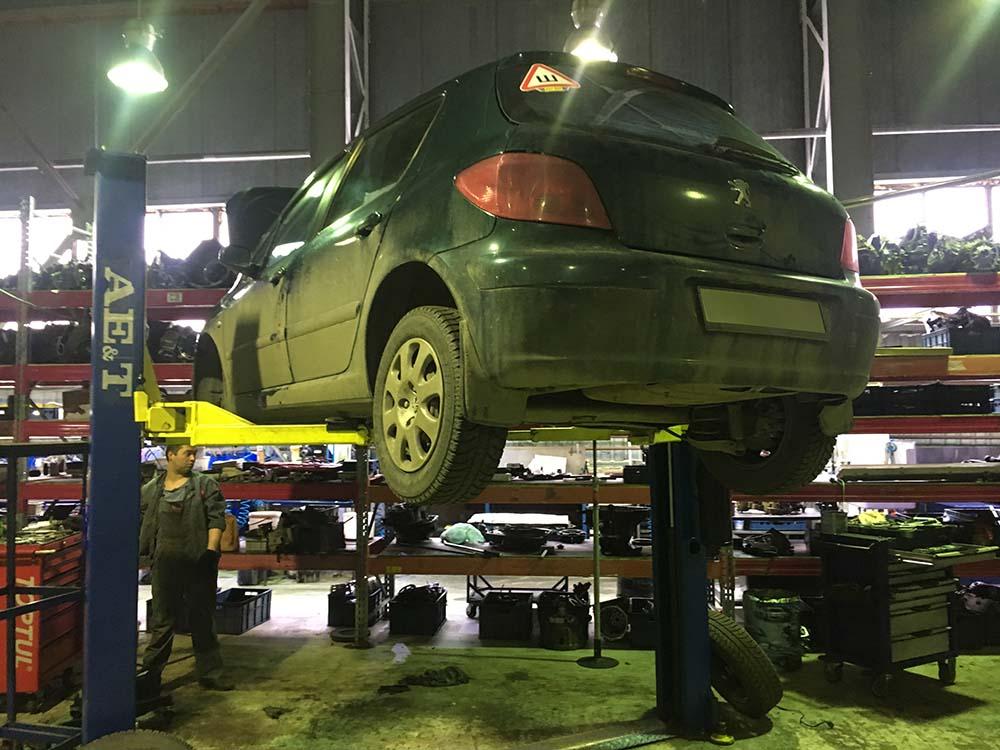 ремонт акпп Peugeot 307