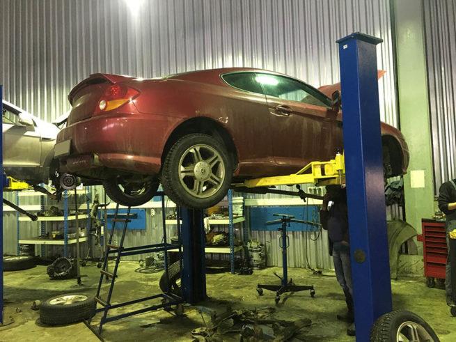 Ремонт АКПП Hyundai Tuscani
